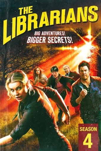 Bibliotekininkai / The Librarians (2017) 4 Sezonas EN