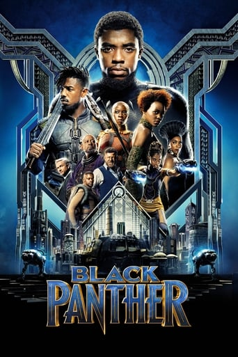 The Black Panther (2018) movie poster image