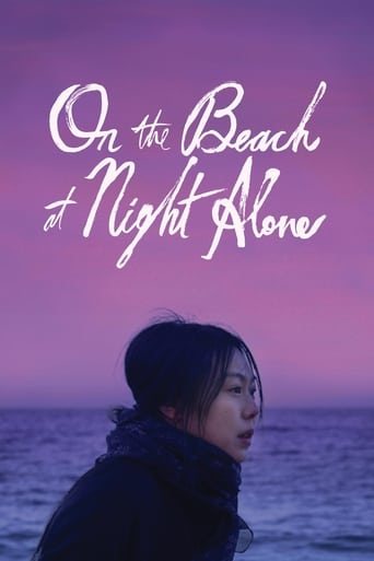 Poster of On the Beach at Night Alone