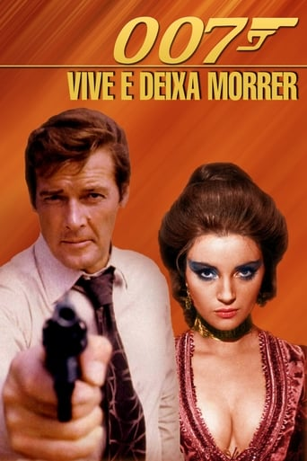 Com 007 Viva e Deixe Morrer - Poster