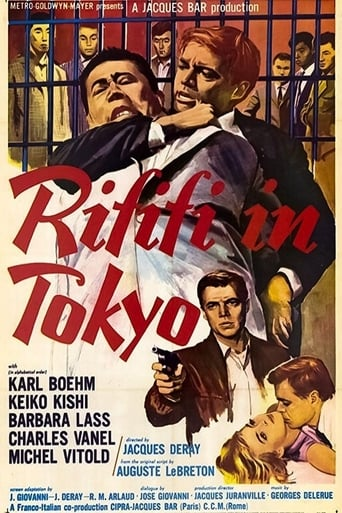 Poster of Rififi in Tokyo