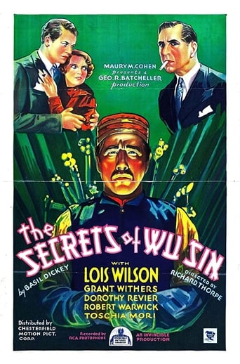 Poster of The Secrets of Wu Sin
