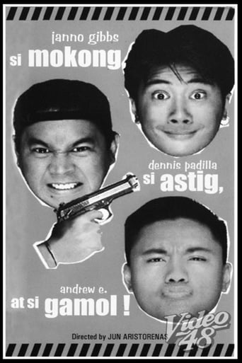 Poster of Si Mokong, si Astig, at si Gamol