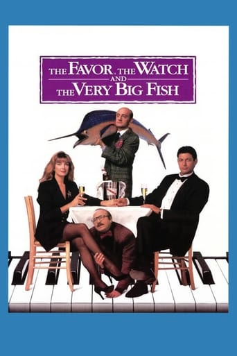 Poster of The Favour, the Watch and the Very Big Fish