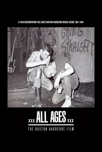All Ages: The Boston Hardcore Film Movie Poster