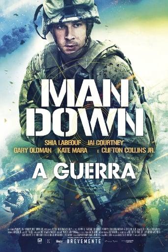 Man Down: O Terror Da Guerra - Poster