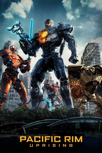 Official movie poster for Pacific Rim: Uprising (2018)
