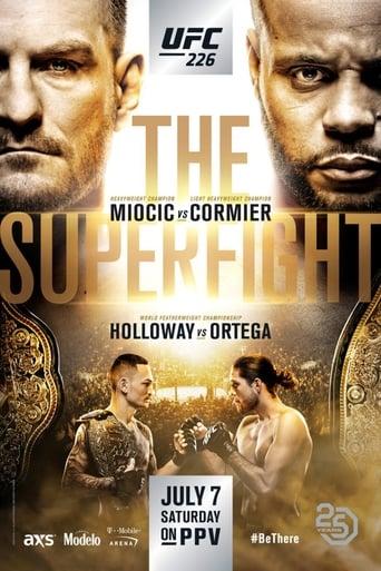 Poster of UFC 226: Miocic vs. Cormier