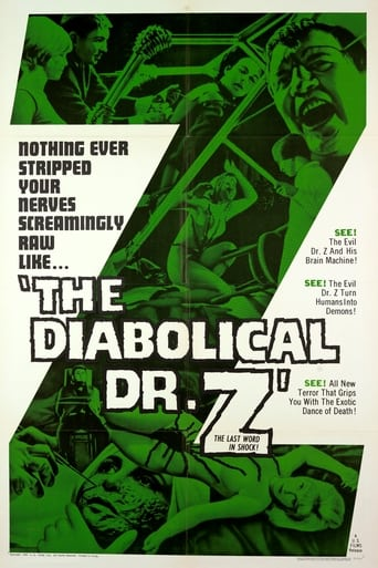 Poster The Diabolical Dr. Z