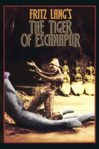 Poster of The Tiger of Eschnapur