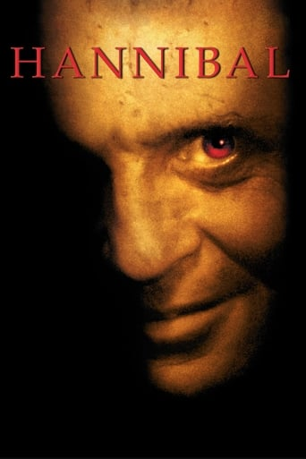Official movie poster for Hannibal (2001)