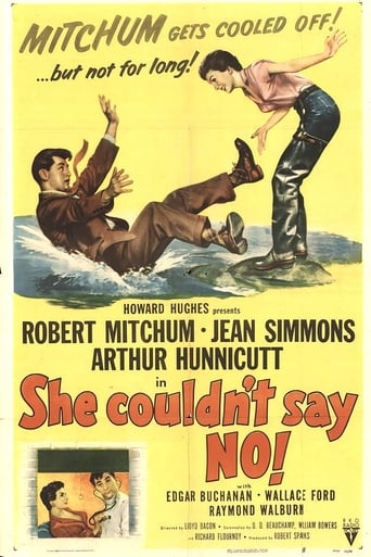 Poster of She Couldn't Say No