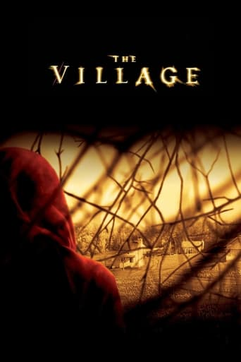 Official movie poster for The Village (2004)