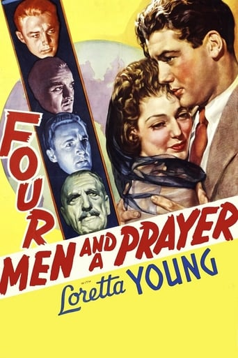 Four Men and a Prayer Movie Poster