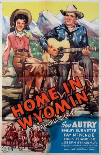 Poster of Home in Wyomin'