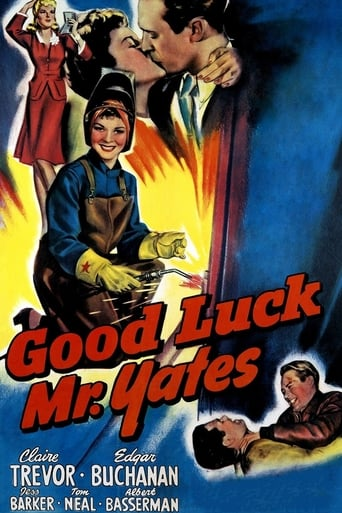 Poster of Good Luck, Mr. Yates