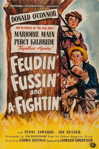 Poster of Feudin', Fussin' and A-Fightin'
