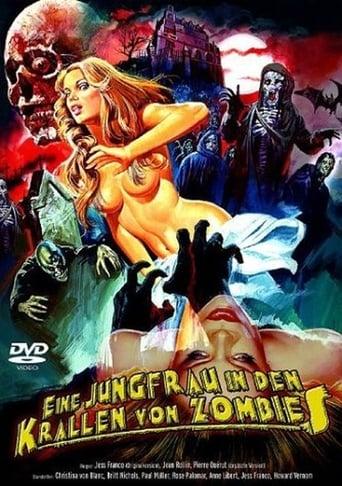 Eine Jungfrau in den Krallen von Zombies