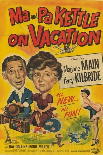 Poster of Ma and Pa Kettle on Vacation