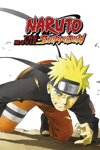 Poster of Naruto Shippuden The Movie