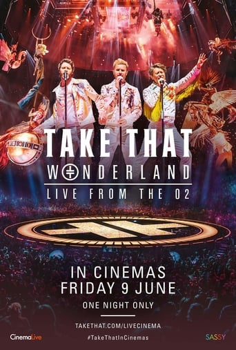 Poster of Take That: Wonderland Live from the O2