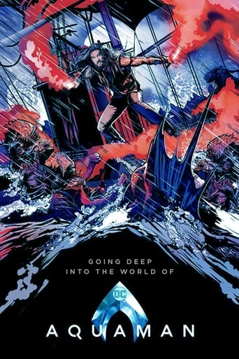 Poster of Going Deep Into the World of 'Aquaman'