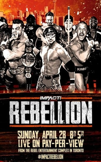 Poster of Impact Wrestling Rebellion