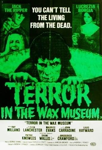 Poster of Terror in the Wax Museum