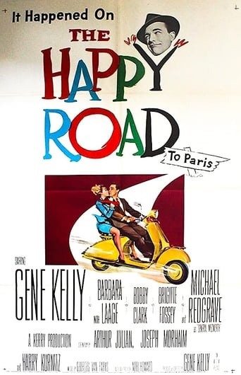 Poster of The Happy Road