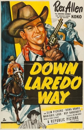 Poster of Down Laredo Way
