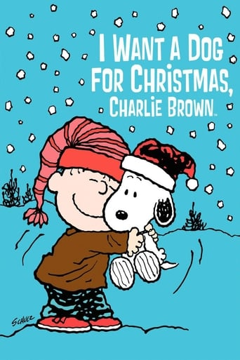 Poster of I Want a Dog for Christmas, Charlie Brown
