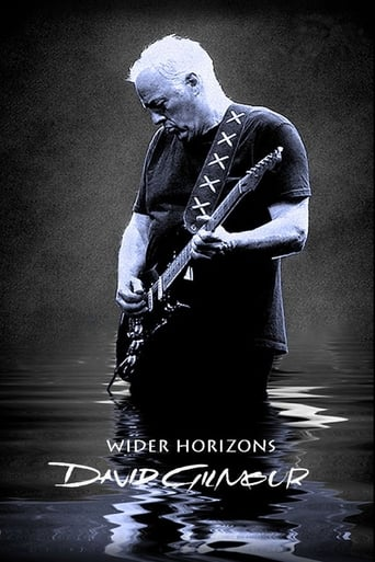 David Gilmour: Wider Horizons poster
