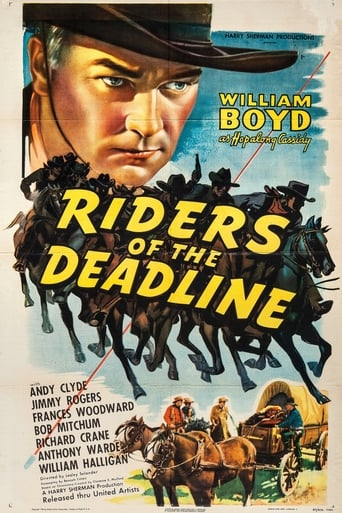 Poster of Riders of the Deadline