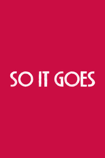 Poster of So It Goes
