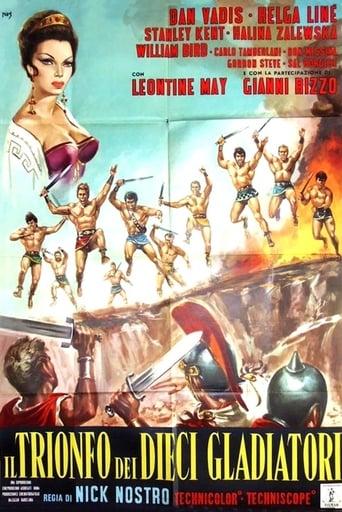 Il trionfo dei dieci gladiatori