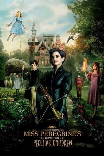 The Miss Peregrine's Home for Peculiar Children (2016) movie poster image