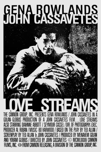 Love Streams (1984) - poster
