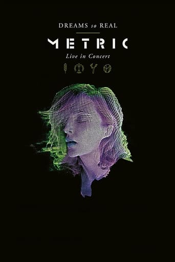 Poster of Metric: Dreams So Real