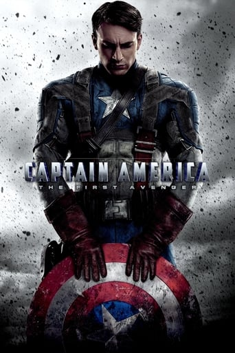 Official movie poster for Captain America: The First Avenger (2011)