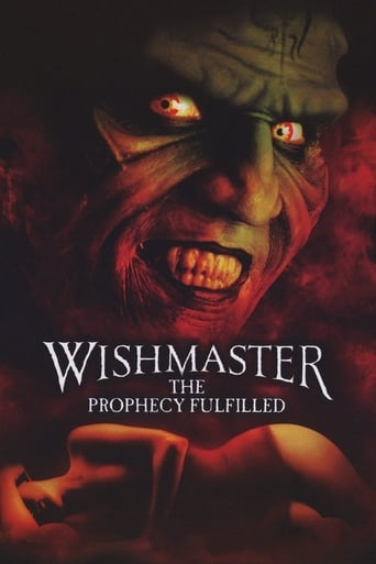 Poster of Wishmaster 4: The Prophecy Fulfilled