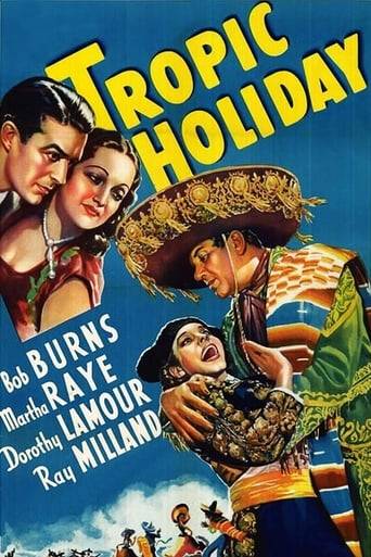 Poster of Tropic Holiday