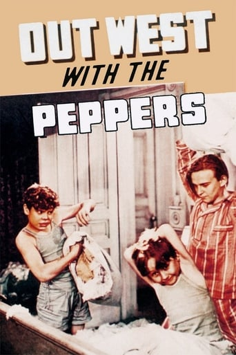 Poster of Out West with the Peppers