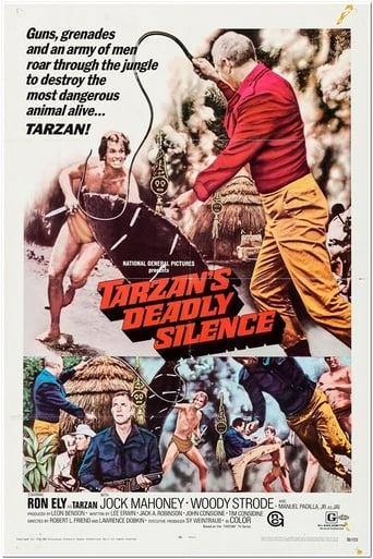 Poster of Tarzan's Deadly Silence