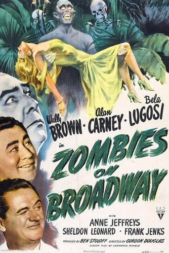 Poster of Zombies on Broadway