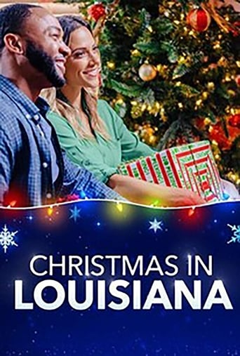 Poster Christmas in Louisiana