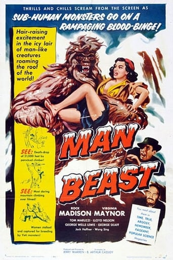 Poster of Man Beast