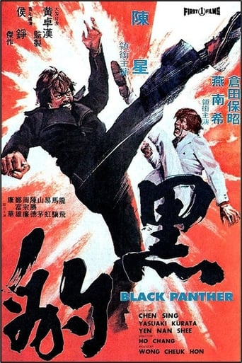 Poster of The Black Panther