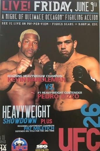 Watch UFC 26: Ultimate Field Of Dreams 2000 full online free