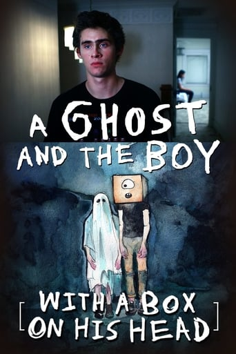 Poster of A Ghost and the Boy with a Box on His Head