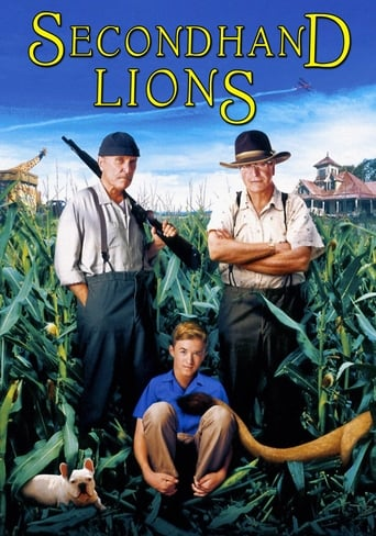 Poster of Secondhand Lions
